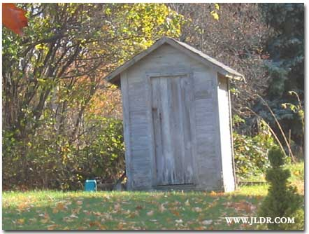 Michigan Outhouse near another Vineyard