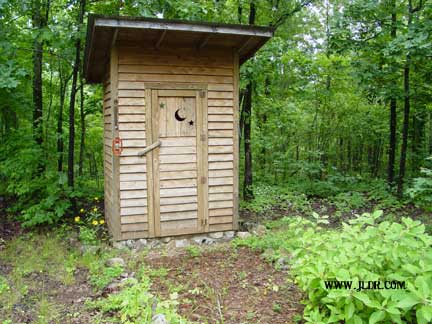 Gourdneck, Arkansas Outhouse