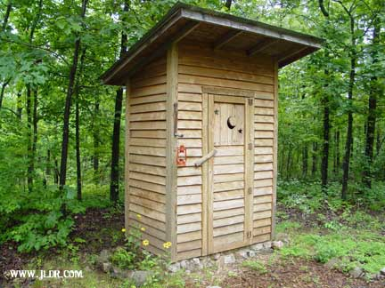 An Outhouse near Gourdneck, Arkansas