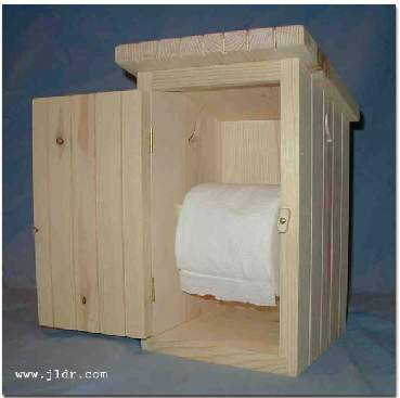 Outhouse Toilet Paper Holder