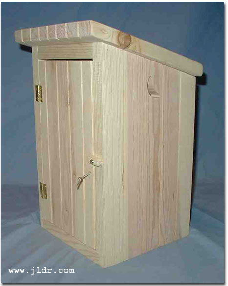 Free Outhouse Plans - In-House Outhouse, Historic Outhouse