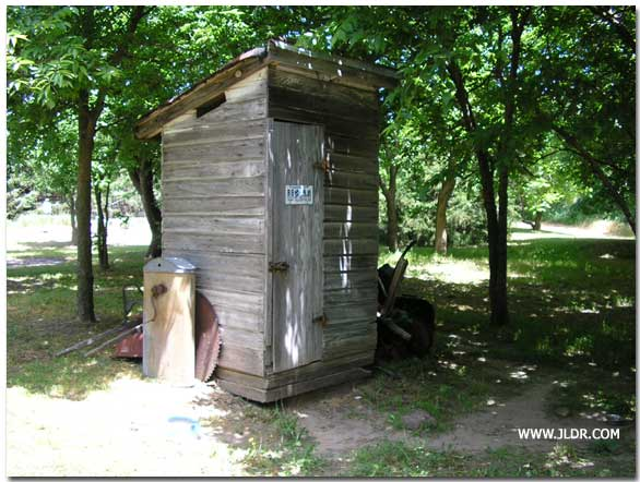 WPA Outhouse in McPherson County, Kansas