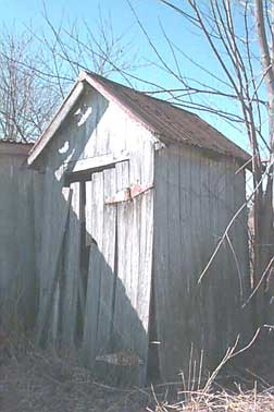 Alloway Baptist Church Outhouse