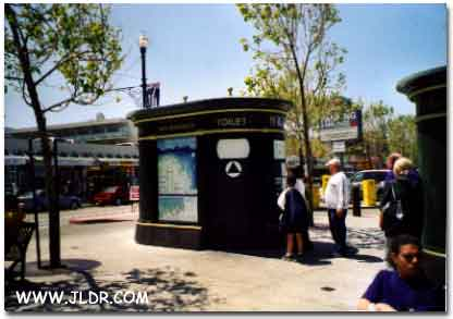 An Electronic Modern Outhouse in San Franscisco