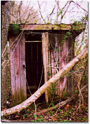 Knox County Tennessee Outhouse