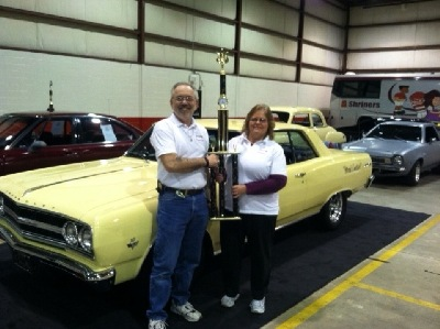 Tom and Vilma with their '65 Chevelle