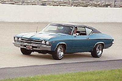 Chuck's 1969 Chevelle