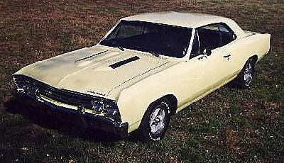 Chuck's 502 1967 Chevelle