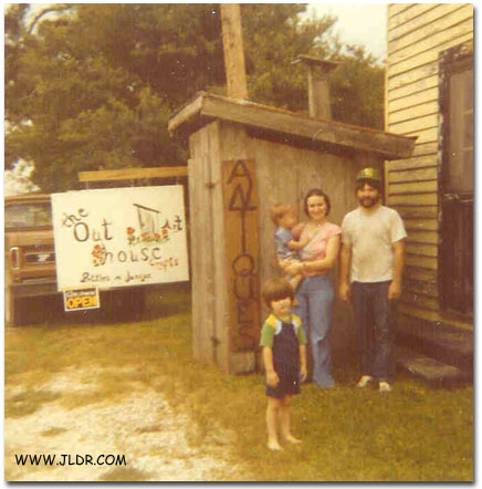 The 2nd proud family next to the new Outhouse