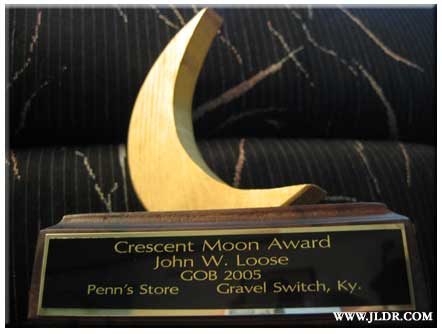 Winner of the 2005 Crescent Moon Award