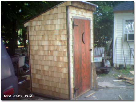 Could this homebuilt Outhouse be worth $1,000?