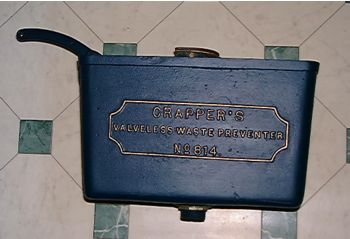 8.1.4. Valveless Waste Preventer' by Thomas Crapper & Co. of Chelsea, London. 1900.