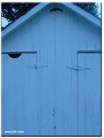 The Outhouse full frontal