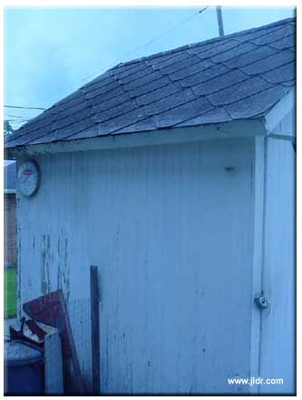 The Outhouse, left side view