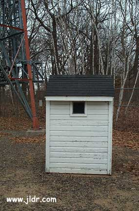Little Falls, MN ATT Tower Outhouse