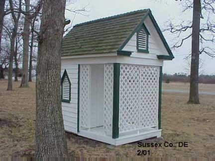 Countryside Outhouse