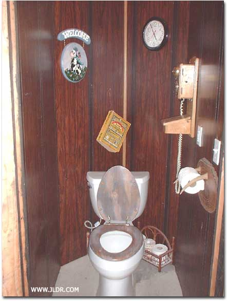 Inside the Indoor Outhouse