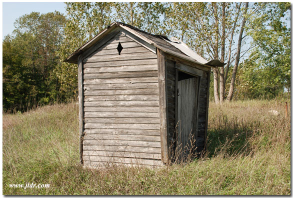 Old Michigan Outhouse
