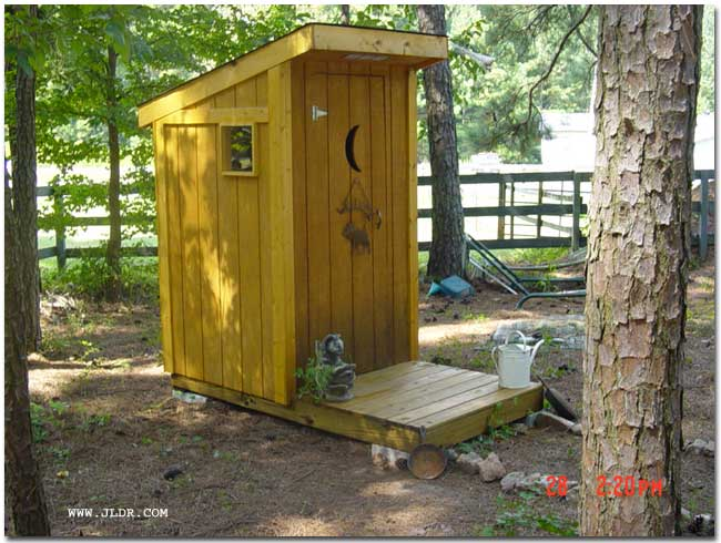 Outhouses plans find house plans for Outhouse bathroom ideas