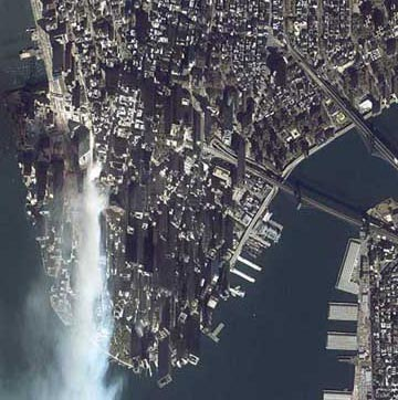 September 11, 2001 Manhattan after the Attack