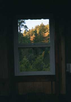 Look at the View out this Outhouse Window!!!