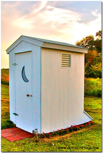 Converted to Composting Outhouse after Restoration