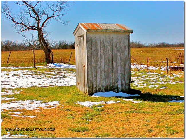 Outhouse before restoration and conversion