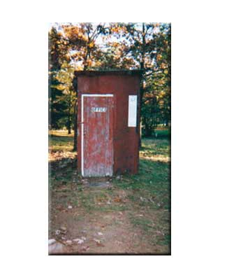 The Old Outhouse before Restoration