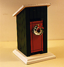 A Christmas Outhouse