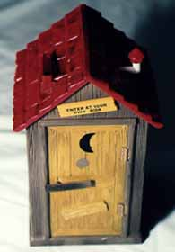Front View of the Outhouse Bank