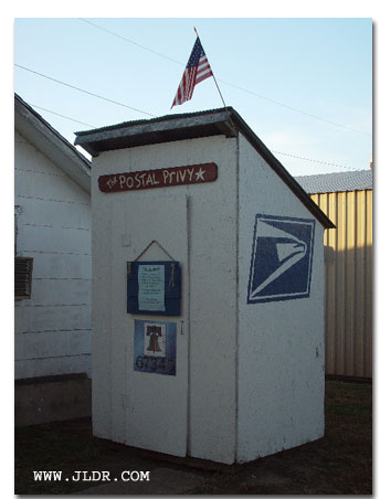 The Postal Outhouse