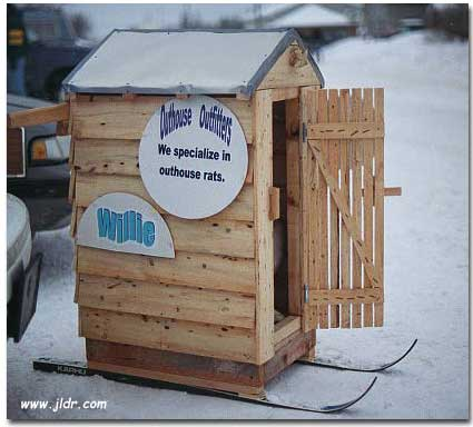 Outhouse Outfitters - a well constructed outhouse