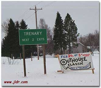 Here's where it all happens; Trenary, Michigan USA