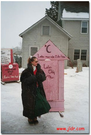 Ladies Only in this choice outhouse