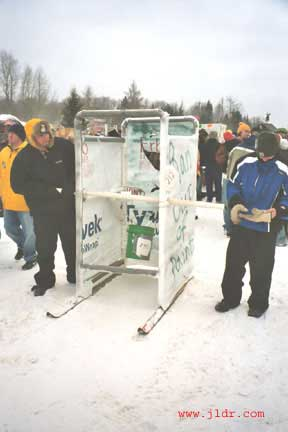 PVC and Tyvek makes for a fast outhouse