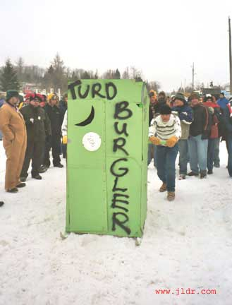 The Turd Burglar Outhouse