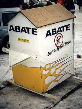 Even ABATE has an Outhouse