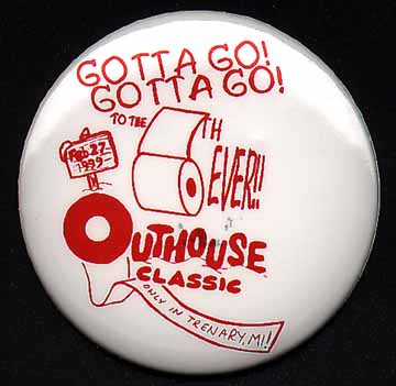 Official Outhouse Classic Button