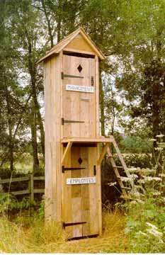 A Management vs. Employee's 2-Story Outhouse