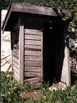 The Corner-Seat Outhouse