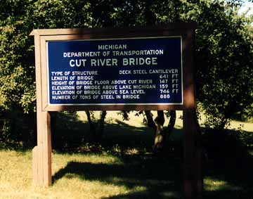 Cut River Bridge Rest Area