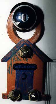 Outhouse Door Knob Ringer