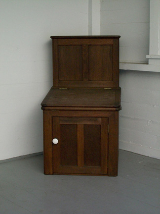 Moule's Patent Earth Commode