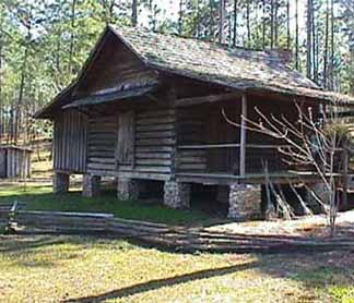 Meeks Cabin and Outhouse