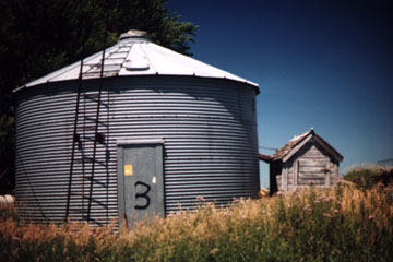An Outhouse Grain Dryer