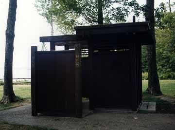 Mackinac Bridge Lookout Rest Area Outhouse