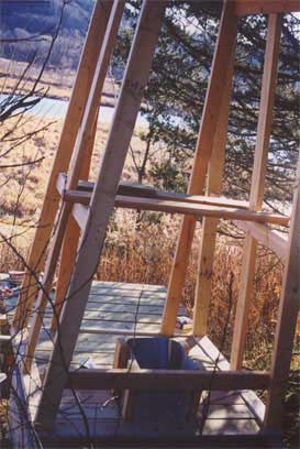 The Stool Inside the A-Frame