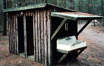 His & Hers Outhouse