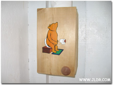 Pooh Toilet Paper Holder