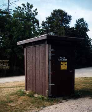 Stoney Point Public Access Outhouse